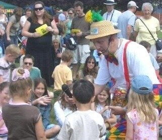 Magic OZ the Magician and Entertainer for County Shows Public Events
