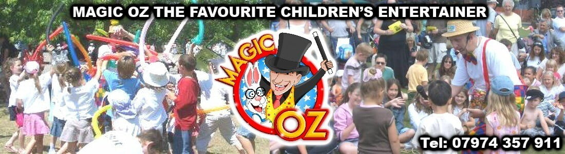 Hire The Fun Childrens Entertainer London. Magic OZ