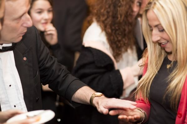 Close-up Camden Magician the best guaranteed for any top event or function Magic OZ