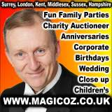 Contact Magic OZ Close up Magician Entertainer