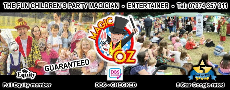 The Fun Children's Entertainer Magic OZ