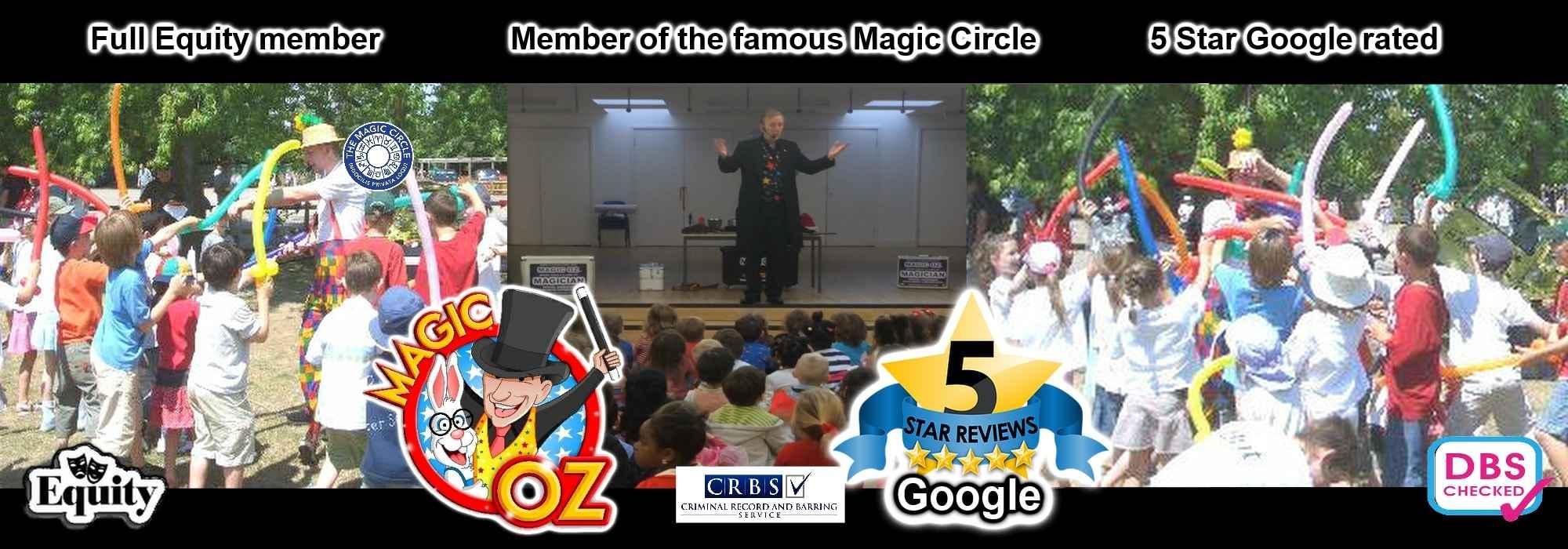 Magic OZ Schools Magician